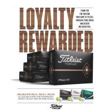 2020 Titleist Pro V1 & Pro V1X Promo- Buy 3 Dozen Get 1 Free